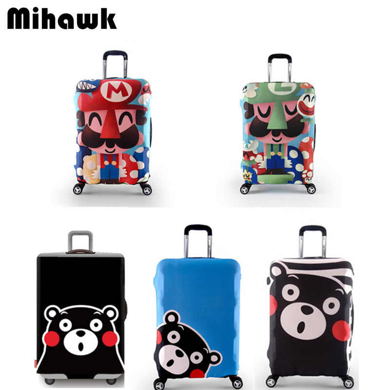 Elastic Luggage Protective Cover For 18-32 inch Trolley Suitcase Protect Dust Bag Case Child Cartoon Travel Accessories Supplie