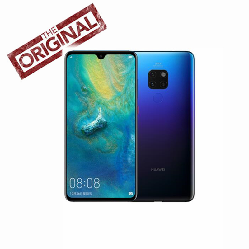 Huawei Mate 20 Mobile-Phone 64GB NFC Supercharge Fingerprint Recognition 16mp New 4-Cameras