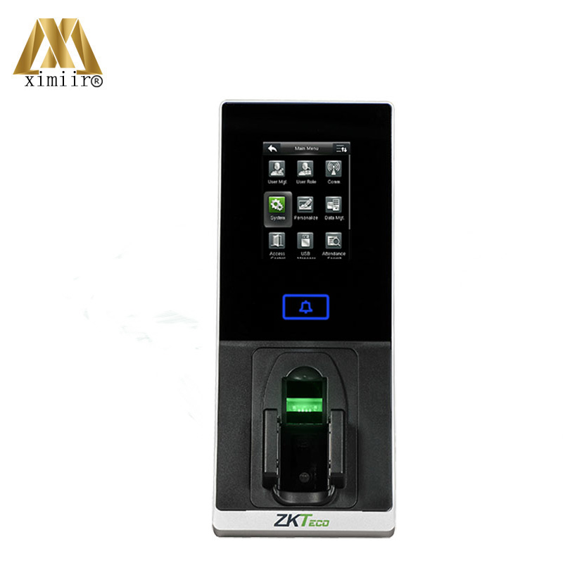 New Arrival FJ200 Green Label ZK Finger Vein Time Attendance And Access Control System Fingervein Door Access Controller