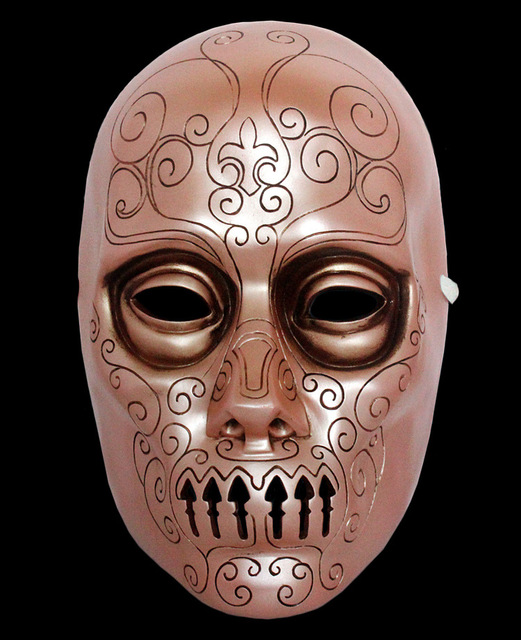 US $47 83 18% OFF Halloween Gift Harry Potter Movie Theme Cosplay  Masquerade Ghoul Scary Ghost Skull Party Home Decoration Resin Mask-in  Party Masks