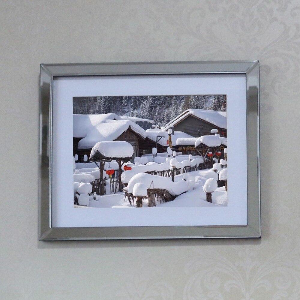 Модная домашняя настенная зеркальная декоративная рамка со скошенным краем комбинация, фоторамка для гостиничной стены декоративная стеклянная зеркальная рамка