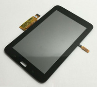 Black LCD Display Monitor Touch Screen Sensor Glass Panel Digitizer Assembly For Samsung Galaxy Tab 3