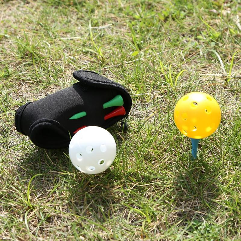 Mini Portable Golf Ball Holder Bag 5