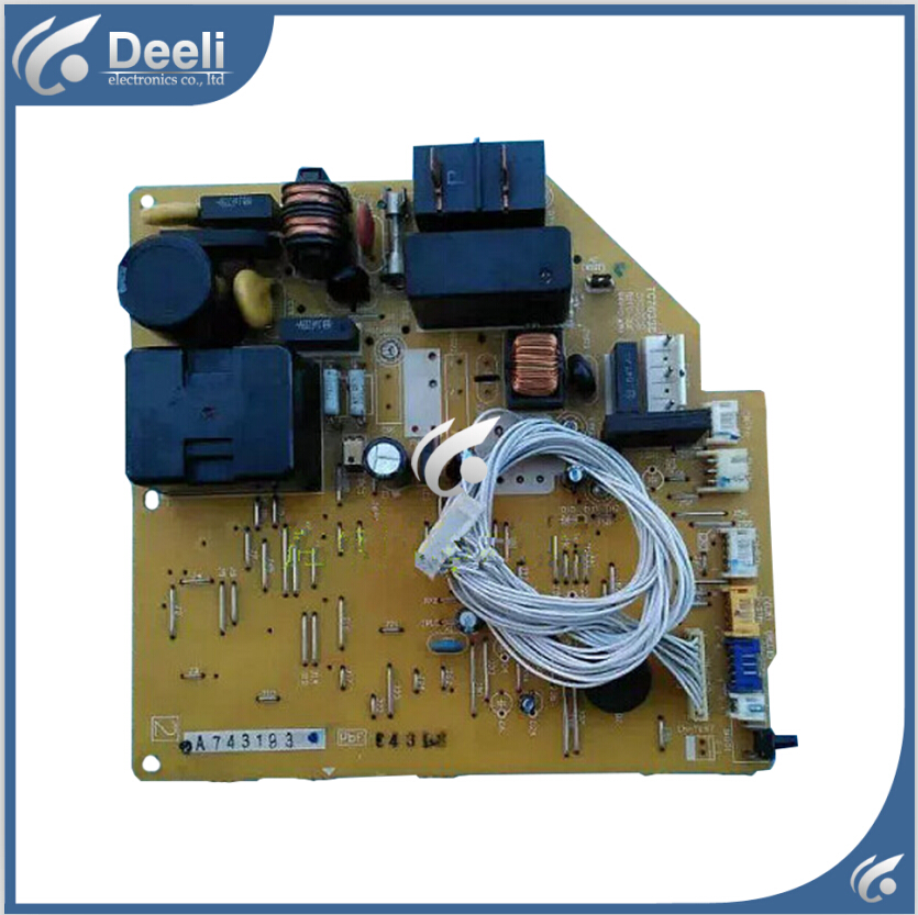 95% new Original for Panasonic air conditioning Computer board A743193 circuit board on sale wire universal board computer board six lines 0040400256 0040400257 used disassemble
