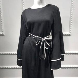 Image 5 - דובאי העבאיה קפטן חיג אב מוסלמי אופנה שמלת קפטן טורקיה Abayas לנשים אירופאי תורכי אסלאמי בגדי Musulman דה מצב