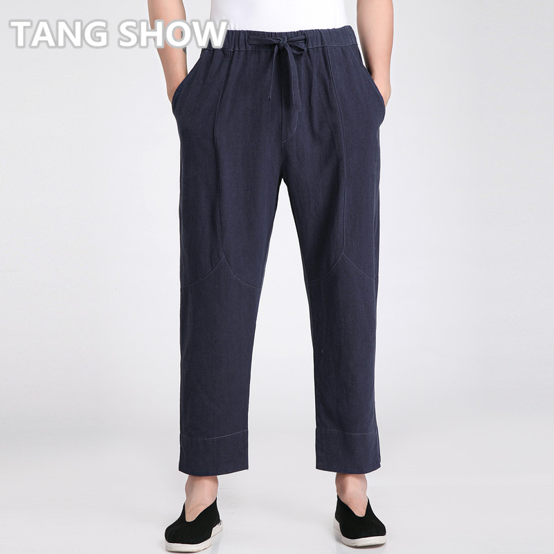 Popular Mens Navy Linen Pants-Buy Cheap Mens Navy Linen Pants lots ...
