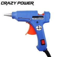 CRAZY POWER Professional High Temp Heater Hot Glue Gun 20W Graft Repair Heat Gun Pneumatic DIY Tools Xl-E20