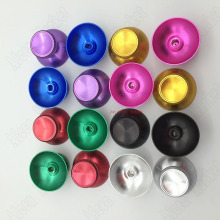 10pairs Eigh Color In Stock Ferrous Metal Mashroom Head Joystick Rocker Cap For PS3 Pairs