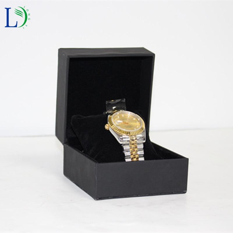 2017 Trendy Watch Box Jewelry Display Case Watch Jewelry Storage Holder  Leather Packing Case Organizer Gift
