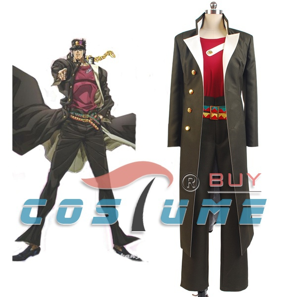 Anime JoJos Bizarre Adventure Stardust Crusaders Kujo Jotaro Cosplay Costume In Costumes From Novelty Special Use On Aliexpress