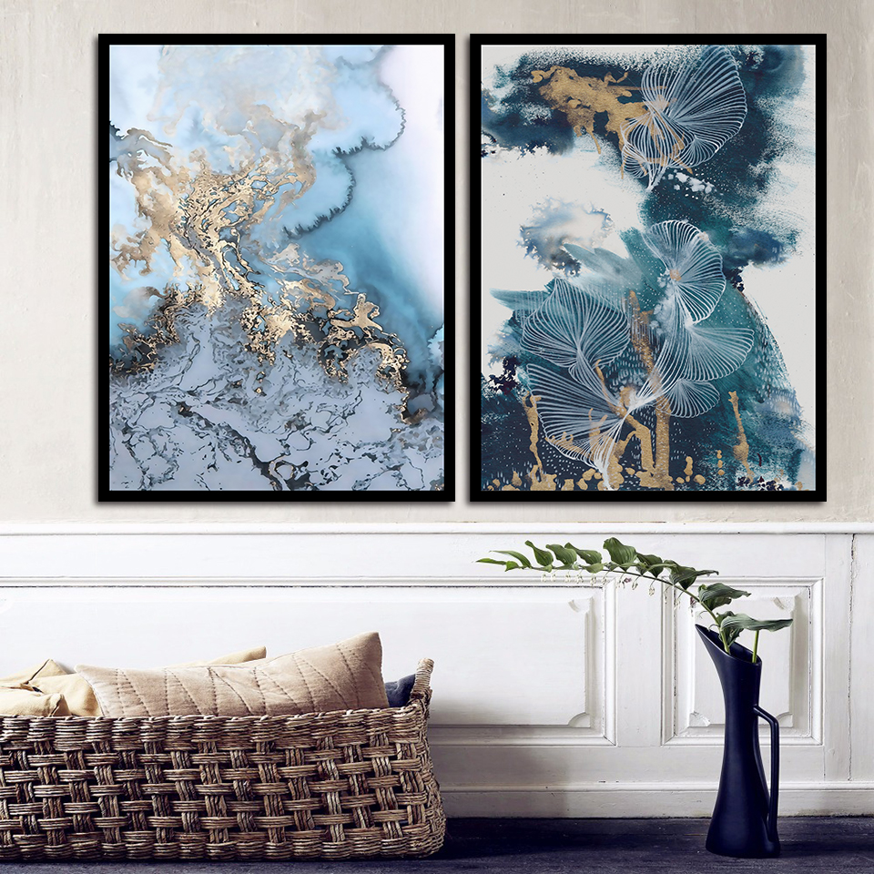 Quotes Canvas Painting Nordic Abstract Line Prints Home Office Decor Creative Wall Artwork Pictures Poster Modular Framework image