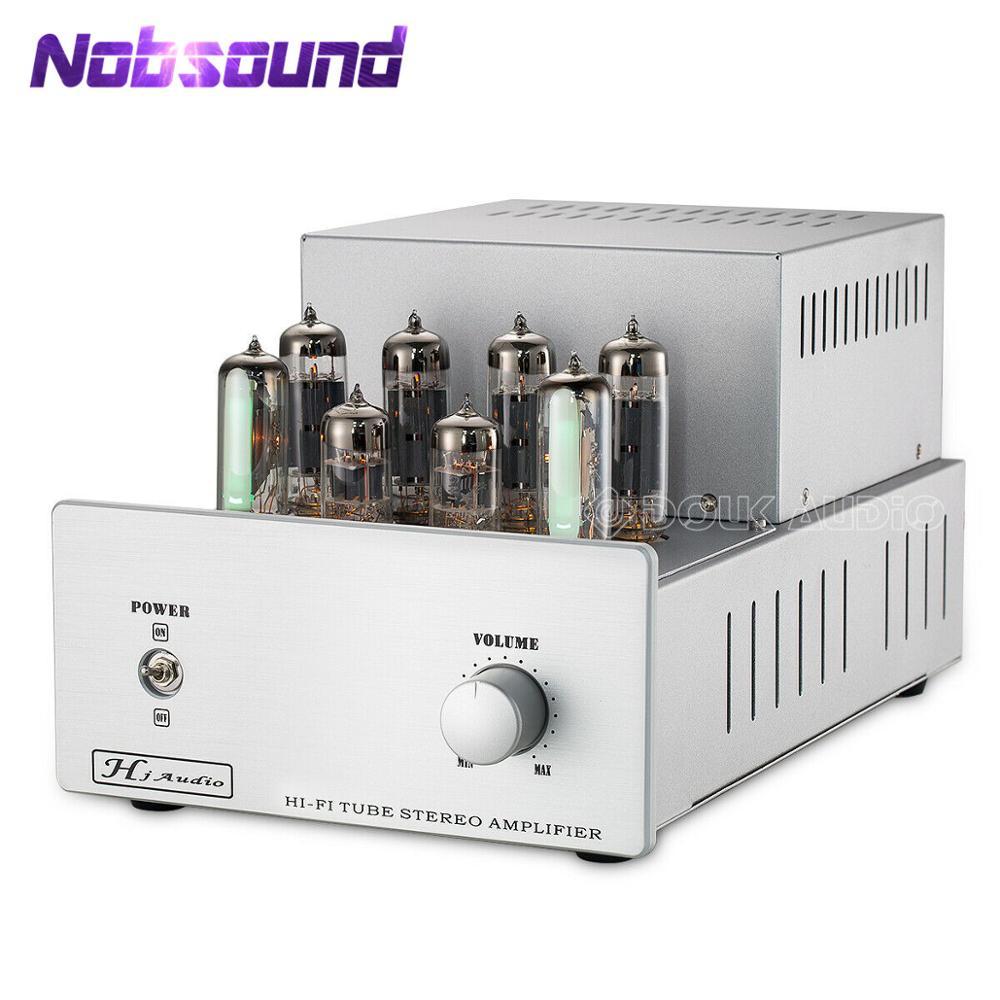 Nobsound 6P14/EL84 amplificateur de Tube push-pull à soupape HiFi stéréo classe AB amplificateur de puissance Audio intégré