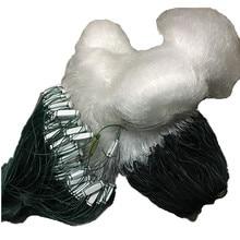 70mm mesh aggravation H2m L100m 3layer fishing net nylon network outdoor rede de pesca epuisette pour la peche