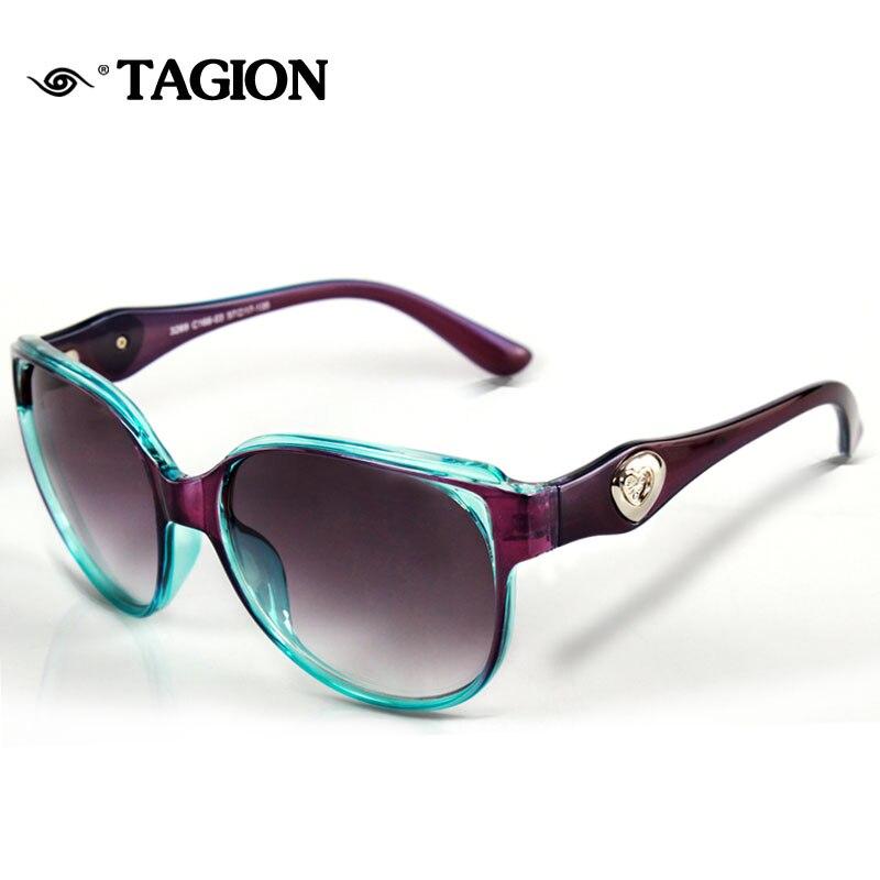 2017 TAGION Plastic Frame Women Sunglasses Multi Color for ...
