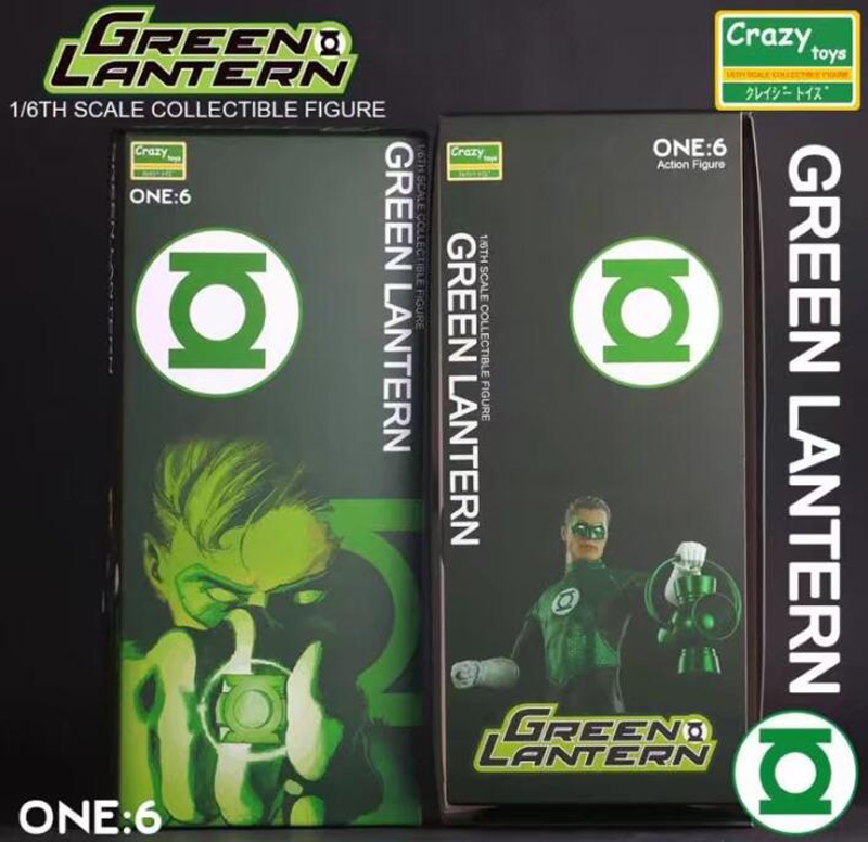 Crazy Toys 1:6 Green Lantern Variant PVC Action Figure Parallax Hal Variable Collectible Model Toys Brinquedos