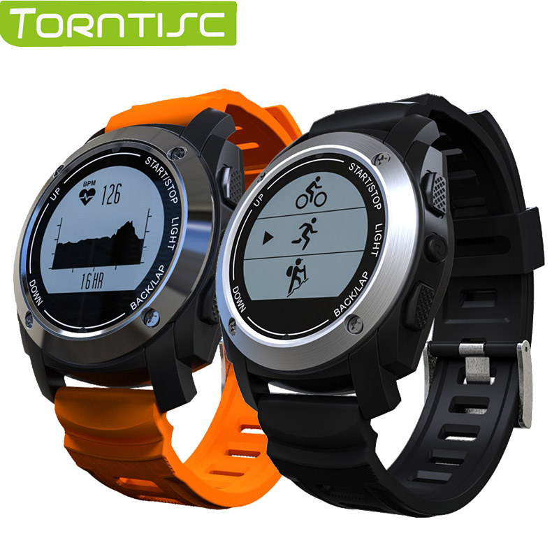 Torntisc S928 Heart Rate Monitor Smart Watch with GPS Tracker Air Pressure Monitor Sports Watch Phone