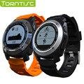 Torntisc s928 pulsómetro smart watch con gps tracker Monitor de Presión de aire Deportes Reloj Teléfono Para IOS Android PK F69