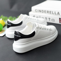 2019 New White Sneakers Women Canvas Shoes Men Fashion Vulcanize Shoes Summer Casual Shoes 35 44