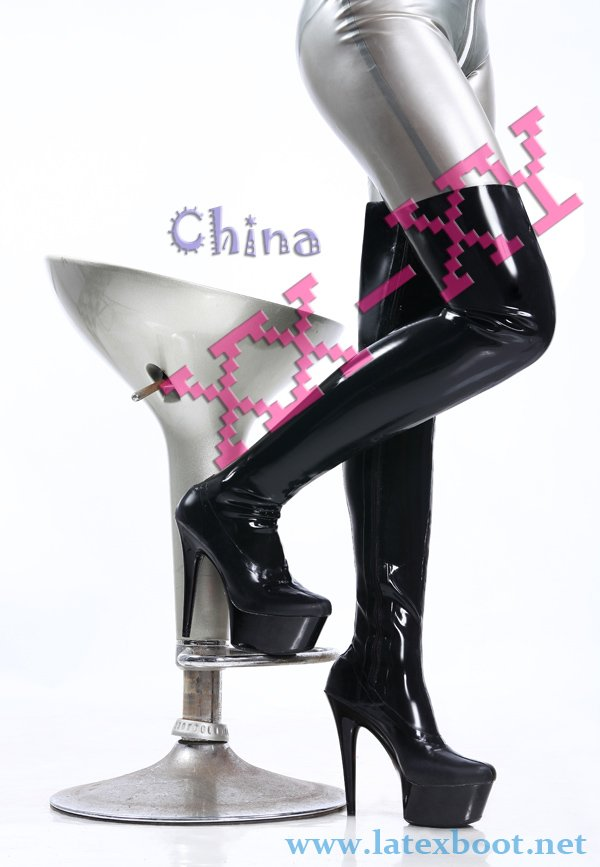 Aliexpress.com : Buy sexy latex thigh high boots/shoes from ...