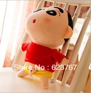 (Free shipping) Crayon doll cute plush toy with elephant penis birthday present