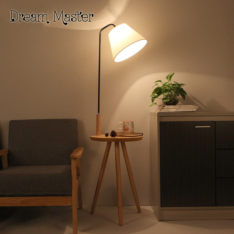 The Living Room Floor Lamp Bedside Lamp Floor Lamp Nordic Creative European  Vertical Shelf Lamp Postage