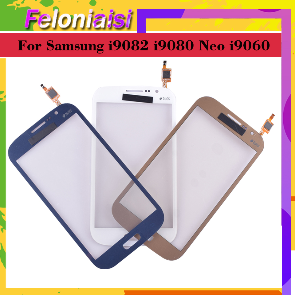 10Pcs lot For Samsung Galaxy Grand GT i9082 i9080 Neo i9060 i9062 Plus i9060i Touch Screen Panel Sensor Digitizer Touchscreen in Mobile Phone Touch Panel from Cellphones Telecommunications