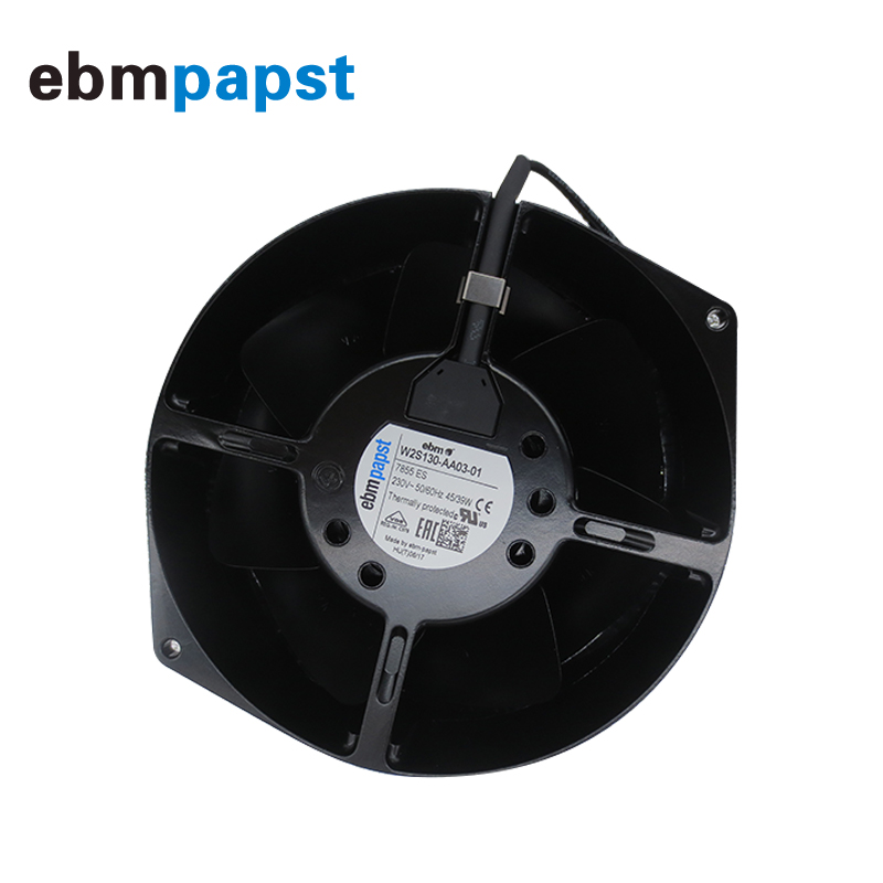 Germany Ebmpapst 230V 15055 W2S130-AA03-01 Metal High Temperature Resistant Fan 7855ES Axial Flow Fan