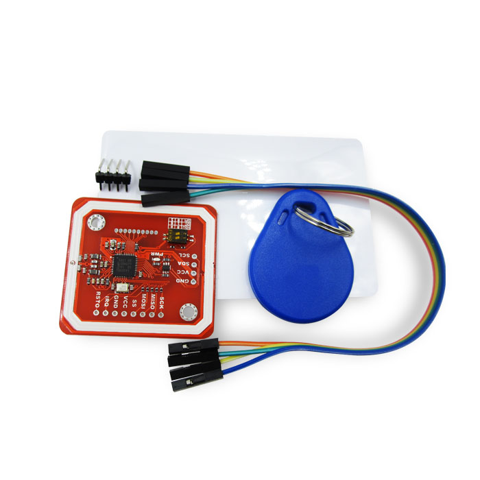 1Set PN532 NFC RFID Wireless Module V3 User Kits Reader Writer Mode IC S50  Card PCB Attenna I2C IIC SPI -in Replacement Parts & Accessories from
