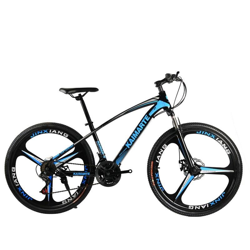 VTT cyclisme, freins à disque à choc pour le cyclisme, VTT à changement de vitesse 26 pouces et 21 vitesses avec matériau en alliage d'aluminium