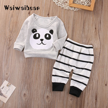 New Baby Clothing Sets Costume For Boys And Girls Children Clothes High Quality Cartoon Tracksuit Coat 6M-18M