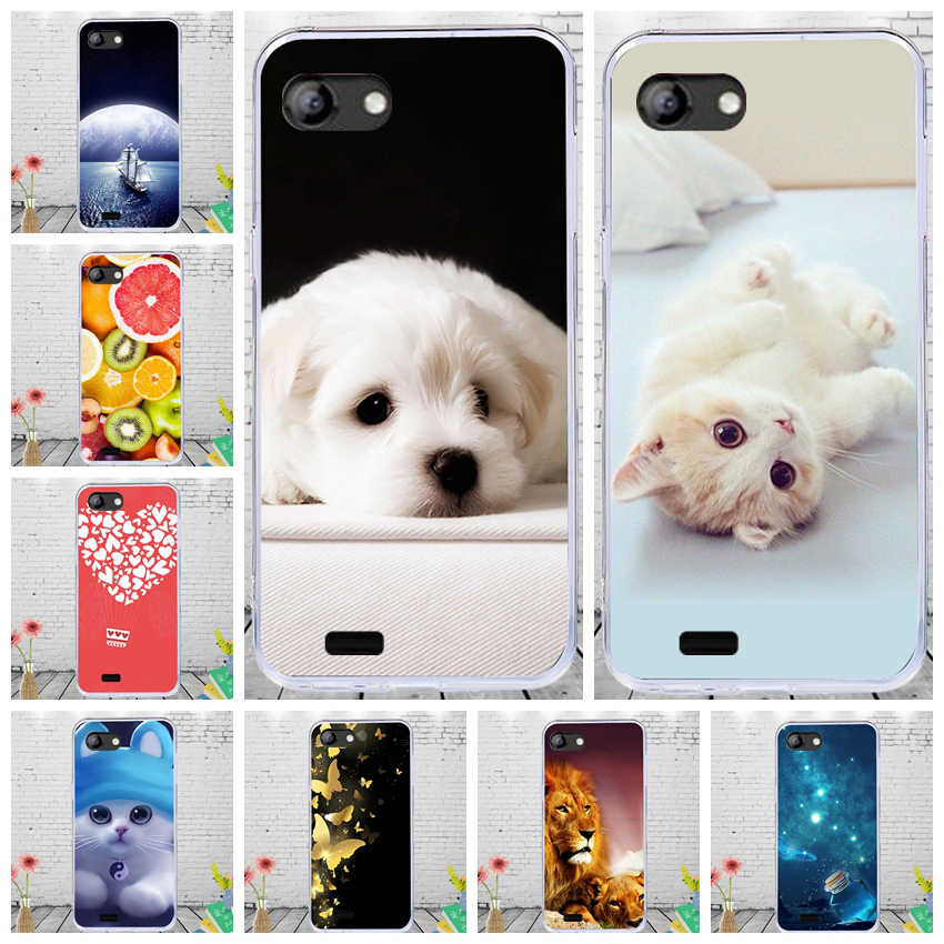 CALROVTE Cartoon Dier Patroon Telefoon Case Voor Vertex Impress Luck Soft TPU Silicone Cover Voor Vertex impress luck Gevallen