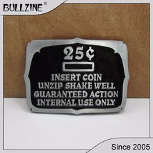 Модная Пряжка для монет Bullzine с оловянной отделкой FP-02793-1 подходит для ремня шириной 4 см