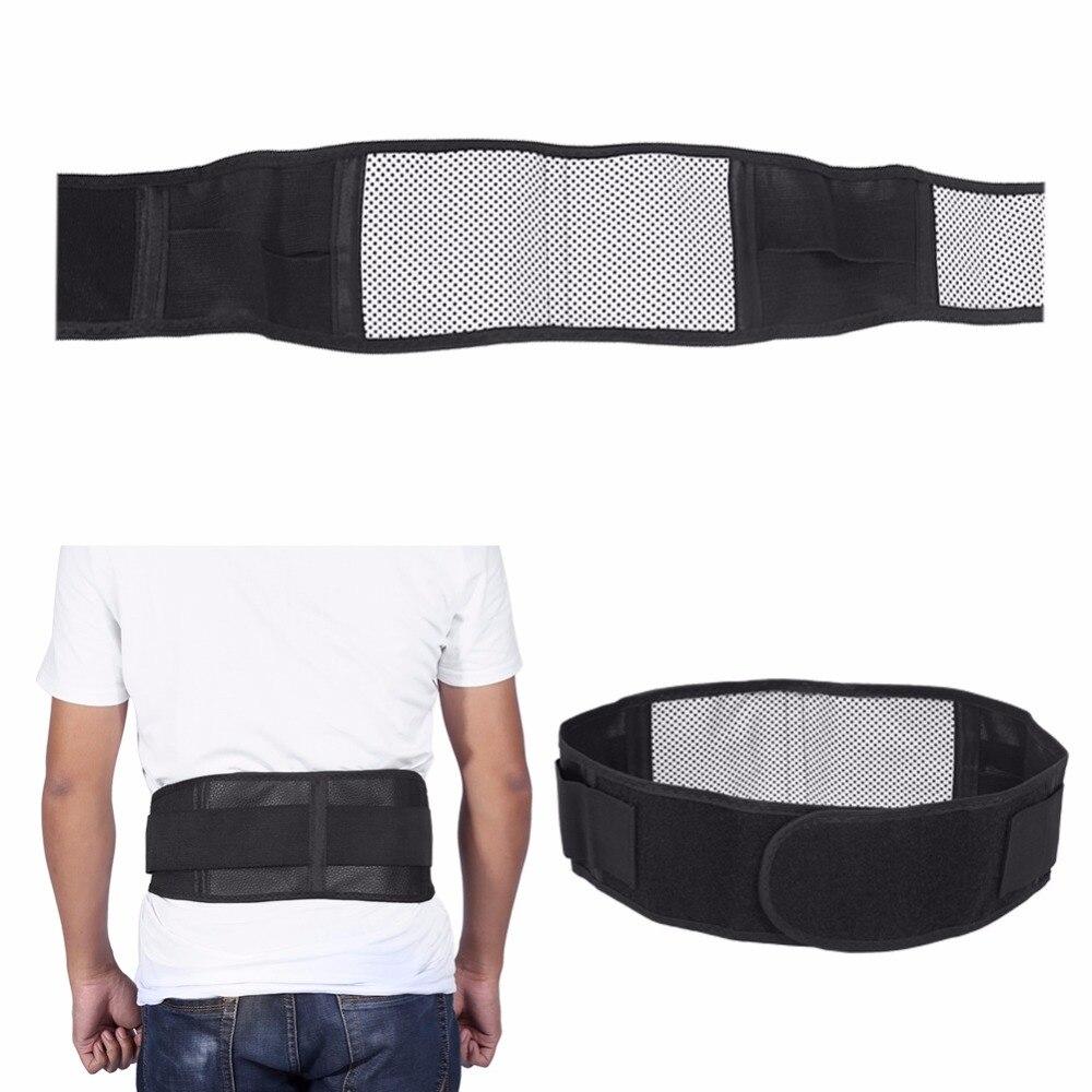 Belt Cummerbund Waist-Brace-Support-Belt Lumbar Tourmaline Pain-Relief Magnetic-Therapy