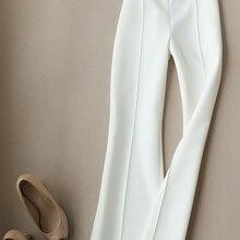 Fashion women's wide leg pants female 20