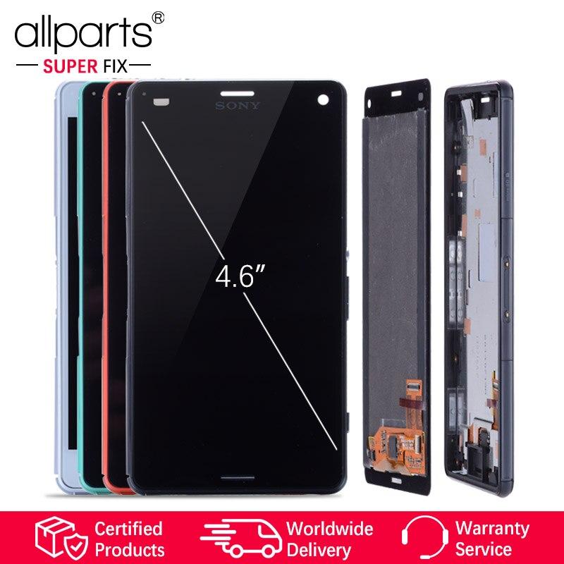 ORIGINAL LCD Für SONY Xperia Z3 Kompakte Display Touchscreen mit Rahmen Z3 Mini D5803 D5833 Für SONY Xperia Z3 kompakte LCD #2