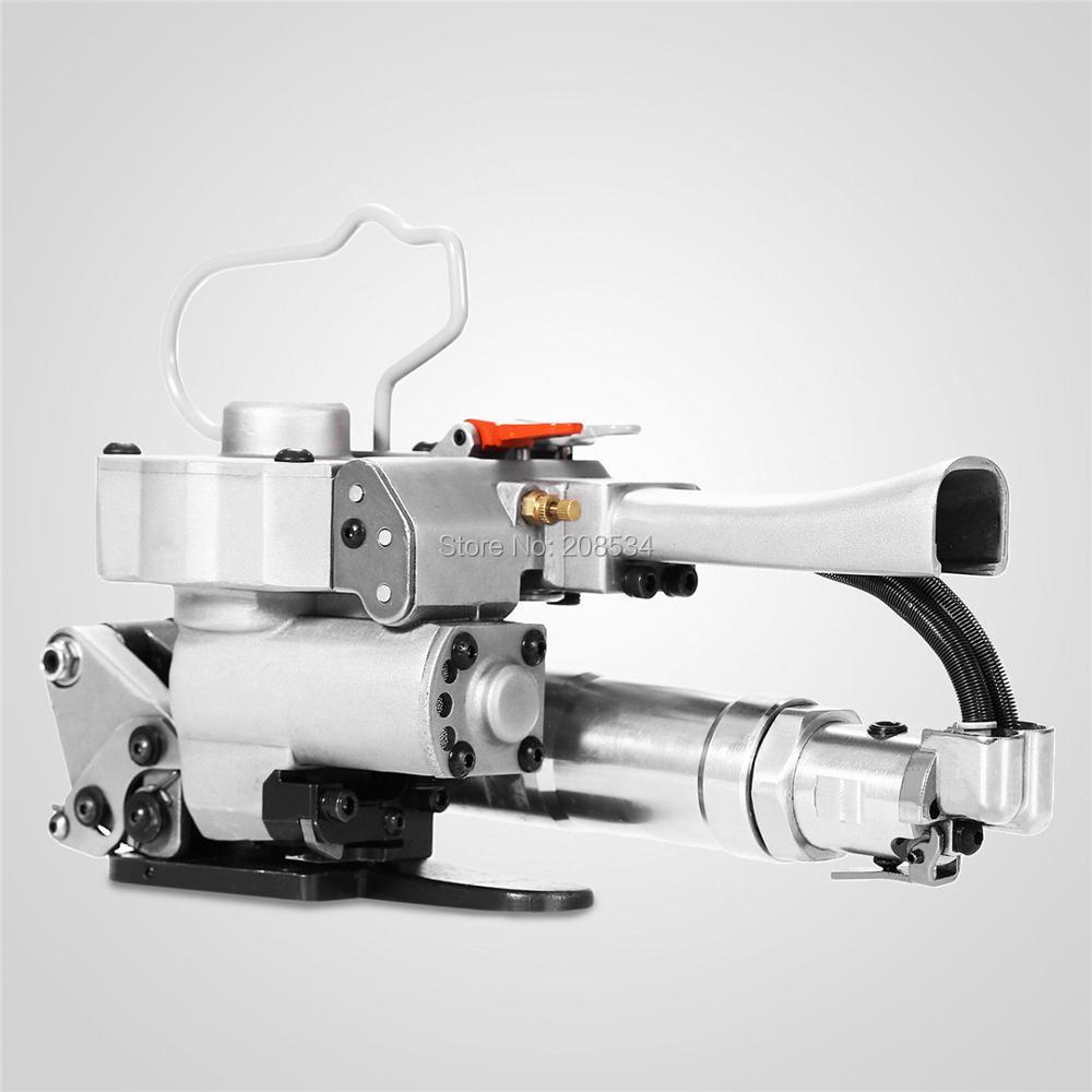 Prezzo basso di Alta Qualità XQD-19 Pneumatico reggette in PET macchina, cinturino di plastica banding strumento di macchina, scatola di cartone reggiatrice