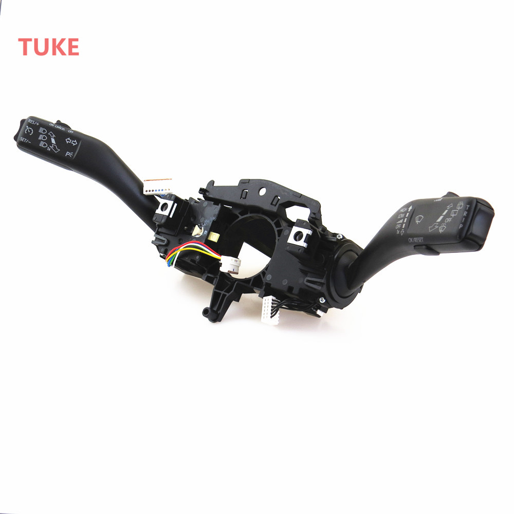 TUKE Cruise Combination Switch Turn Signal Stalk For VW GOLF PLUS GTI MK6 JETTA TOURAN SCIROCCO EOS OCTAVIA SUPERB 5K0 953 513S борт в кроватку сонный гномик умка розовый бсв 0343176 2