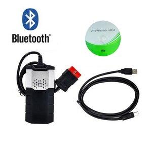 Image 3 - Диагностический инструмент OBD2, новый vci VD DS150E CDP Plus Bluetooth 2015.R3 keygen OBD в качестве мультидиагностического сканера для дельфина