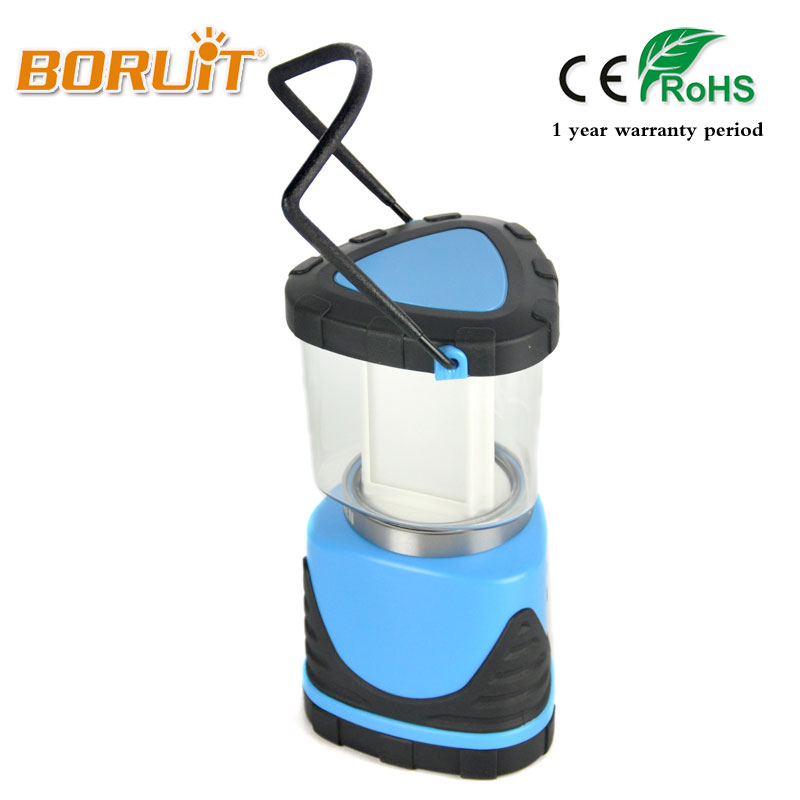 BORUIT Brand 380LM Outdoor Portable Rechargeable LED Bulbs Camping Lantern Tent Lights White Light 3 Modes Hanging Lamp Hiking 30w outdoor lantern portable l2 flood light lamp led rechargeable camping hiking torch 3 modes