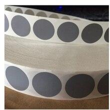 1 POLEGADA Rodada Cor Prata 25mm Círculo Raspe Etiqueta Em Branco Para O Código Secreto Capa Jogo Em Casa Casamento(China)