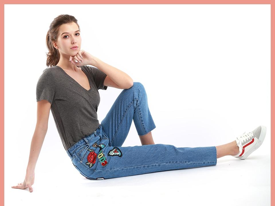 USD ฤดูใบไม้ร่วงฤดูหนาวผู้หญิง ล้างสีฟ้าแฟนดินสอหญิง ZINSSER 7
