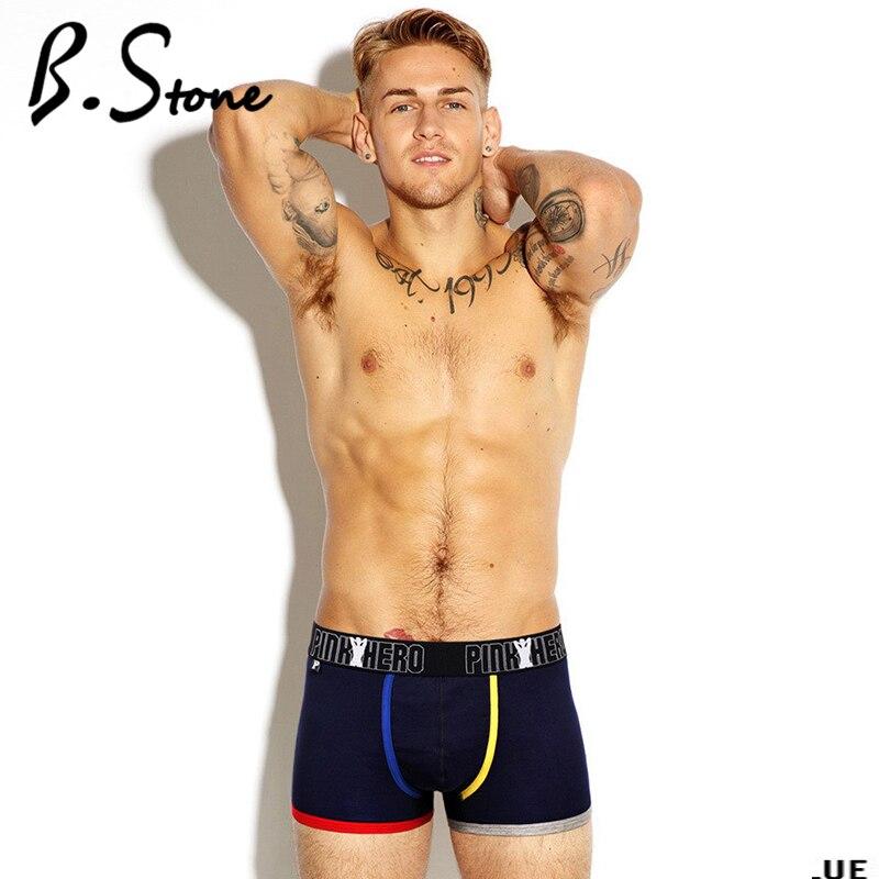 Buy Sexy Men Underwear Boxer Shorts Trunks Cotton Gay Mens Underwear Boxers Brand Penis Pouch U Convex Man Underpants Waist  101227