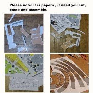 Image 3 - Handwerk Papier Modell Le Corbusier Villa Savoye 3D Architektur Gebäude DIY Bildung Spielzeug Handmade Adult Puzzle Spiel
