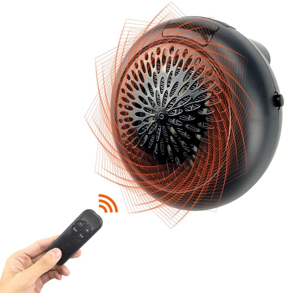 1000 w Riscaldatore Elettrico Mini Riscaldatore di Ventilatore di Ceramica Del Desktop Muro di Corrente Domestica A Portata di mano di Riscaldamento Stufa Radiatore Macchina Più Caldo per L'inverno Camera