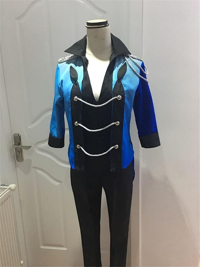 YURI on ICE YURI Skating font b suit b font cosplay costume Halloween dress anime Free