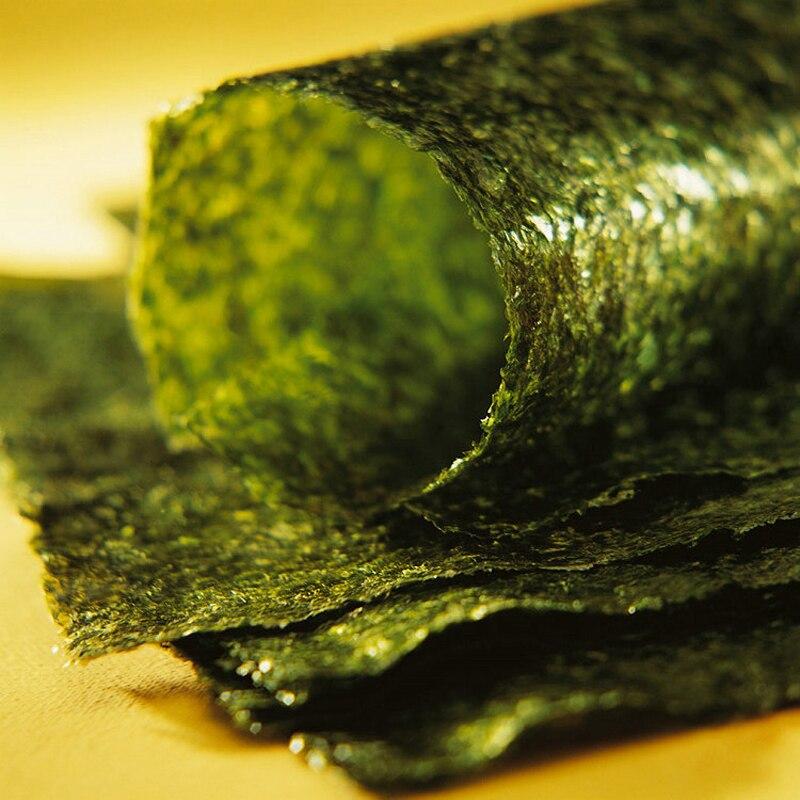 50-100 шт набор Высокое качество суши нори морские водоросли, морские водоросли для суши закуски, зеленая еда морские водоросли Нори Суши сушеные оптом-2