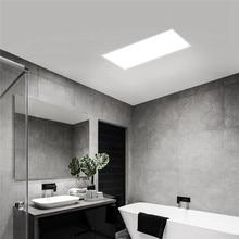 XIAOMI Yeelight Ultra ince LED tavan paneli ışığı Downlight toz geçirmez LED PANEL AYDINLATMA 30x3 0 cm/30x60 cm AC220 240V