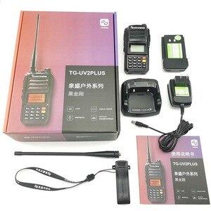 Image 5 - 2 pièces QuanSheng TG UV2 Plus talkie walkie 10 km 10 W 4000 mAh Radios Portatiles Uhf Vhf Radio jambon Hf émetteur récepteur CB 2 voies Radio
