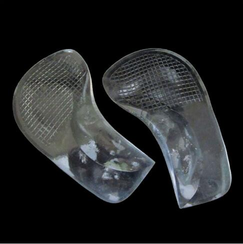 Free shipping 500pairs/lot Non-Slip Pain Relief Flat Feet Orthotic Arch Support Gel Pads Shoe Insoles Cushion Transparent expfoot orthotic arch support shoe pad orthopedic insoles pu insoles for shoes breathable foot pads massage sport insole 045