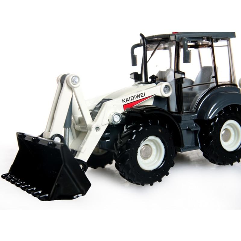 KAIDIWEI-Alloy-Excavator-150-Two-way-Forklift-Bulldozer-Back-Hoe-Loader-shovel-Diecast-Model-For-Kid-Gift-Toys-1